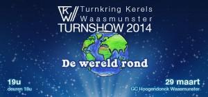 Turnshow 2014: De wereld rond