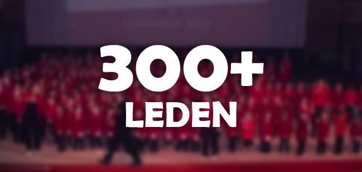 300 leden